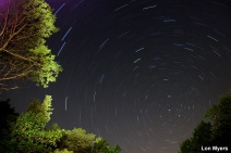 21_Scenery_Star Trail_Lon Myers